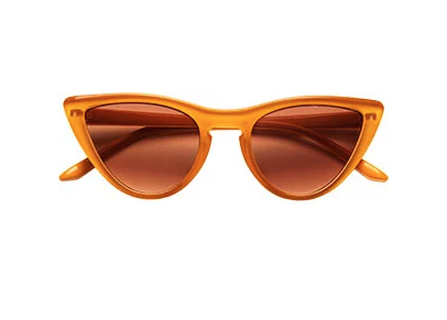 Teeny Tiny Optics Little Kids Caramel Sunglasses
