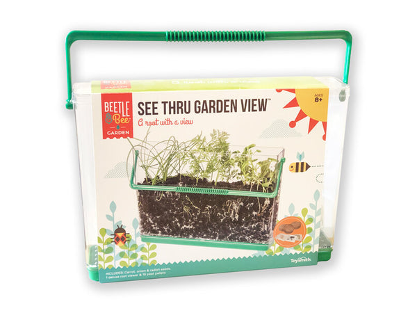 See Thru Garden View: A root with a view