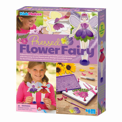 4M Steam Pressed Flower Fairy