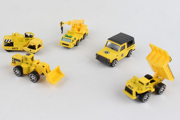 Daron 5 Piece Construction Vehicle Gift Pack