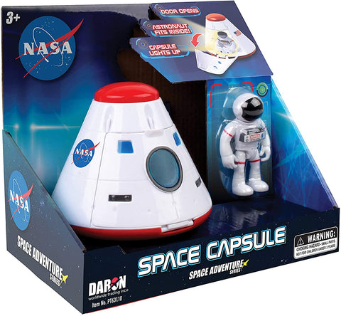 Daron Space Adventure space Capsule w/ Lights
