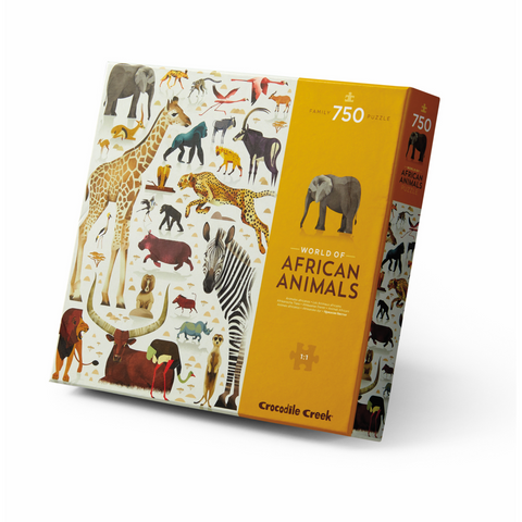 Crocodile Creek 750pc World Of African Animals Puzzle