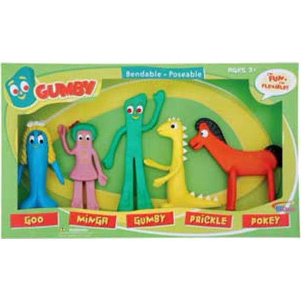 Gumby and  Friends Action Figure Set