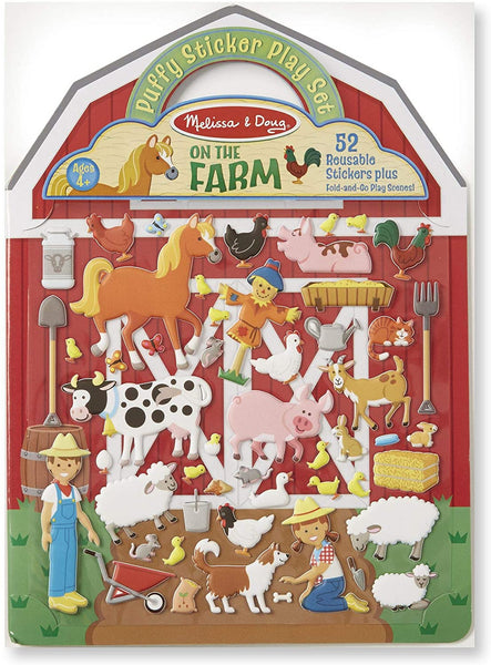 Melissa & Doug Puffy Stickers Play Set- On The Farm