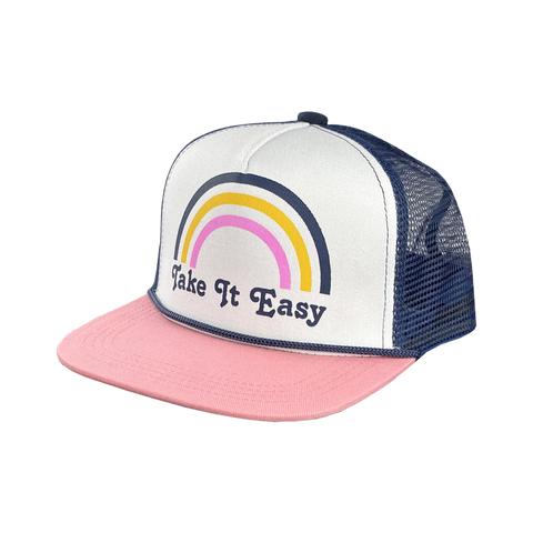 Tiny Whale Take It Easy Trucker Hat