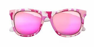 Baby Pink Camo Sunglasses