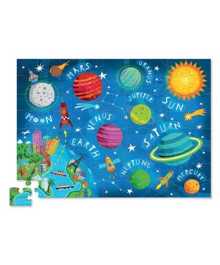 Crocodile Creek 72-Piece Space Puzzle
