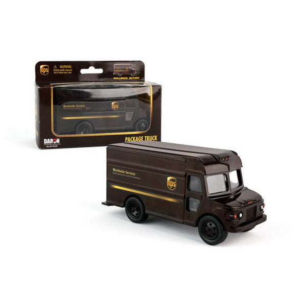 Daron UPS Pullback Package Truck