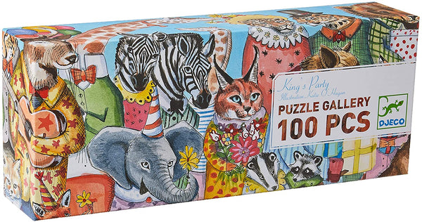 Djeco Puzzle Gallery King's Party 100 pieces