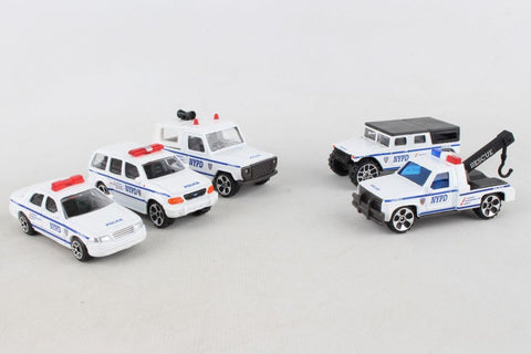 Daron NYPD 5 Piece Vehicle Set