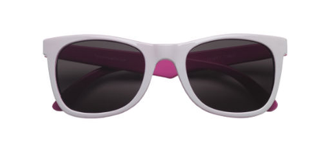Teeny Tiny Optics Toddlers Pink/White Sunglasses