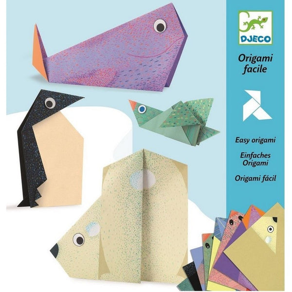 Polar Animals Easy Origami