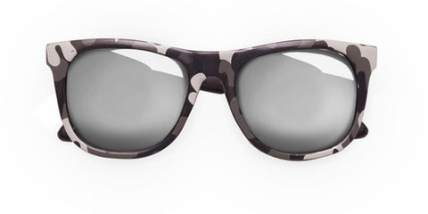 Baby Black Camo Sunglasses