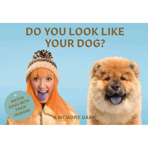 Do You Look Like Your Dog? : Match Dogs with Their Humans: A Memory Game