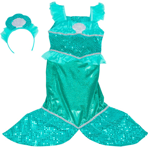 Melissa & Doug Mermaid Costume