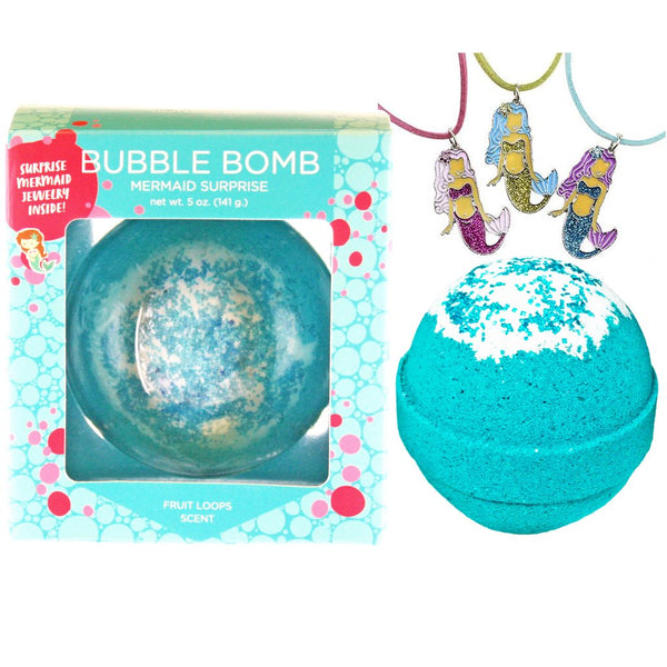 Two Sister Spa Mermaid Surprise Bubble Bath Bomb