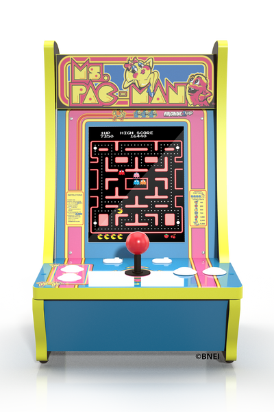 Ms. Pac-Man Counter-cade