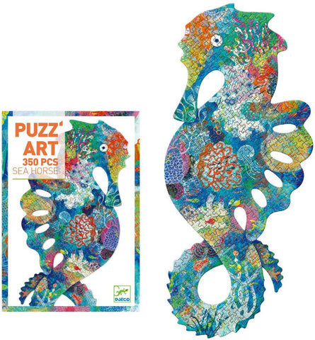 Djeco Puzz' Art 350 Pcs Sea Horse