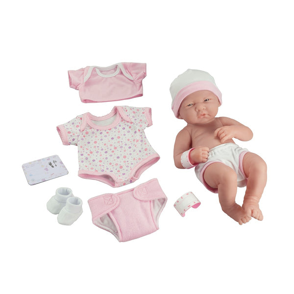"La Newborn 14"" Baby Doll Set"