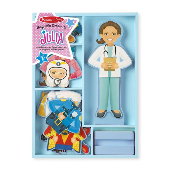 Melissa & Doug Magnetic Dress-Up - Julia