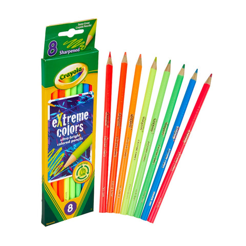 Crayola Extreme Color Pencils (8)
