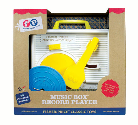 Fisher Price Music Box Record Player