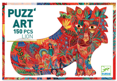 Djeco ART PUZZ Lion 150 piece puzzle