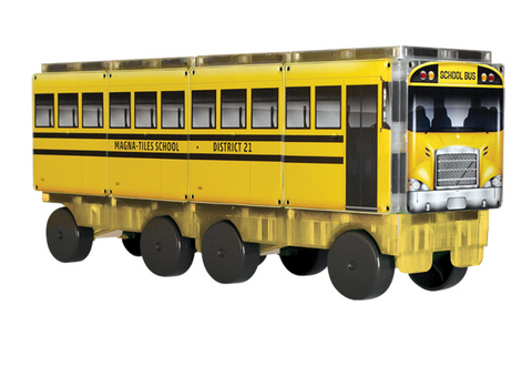 Magnatiles 123  School BUS
