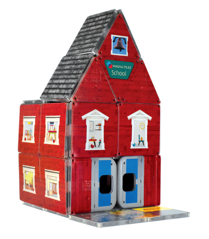 Magnatiles ABC school house