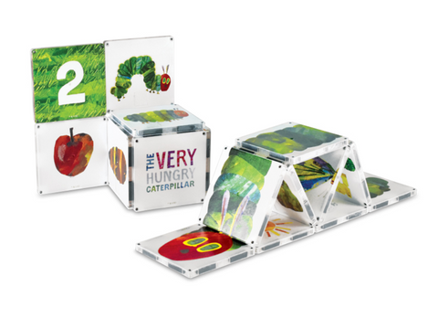 Magnatiles The hungry caterpillar