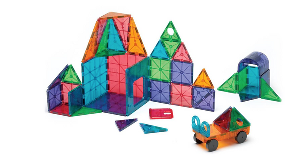 Magnatiles DX 48 pieces clear colors
