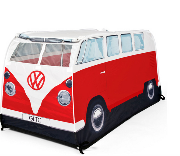 VW Kids pop up play tent red