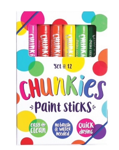 Ooly chunks paint sticks