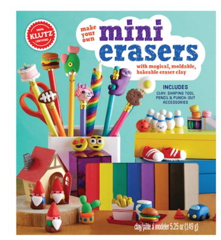 Klutz make your own mini  eraser