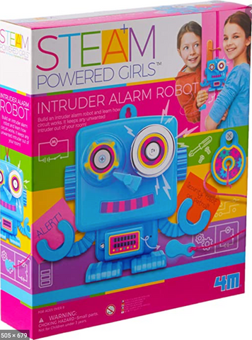 4M STEAM girls intruder room alarm