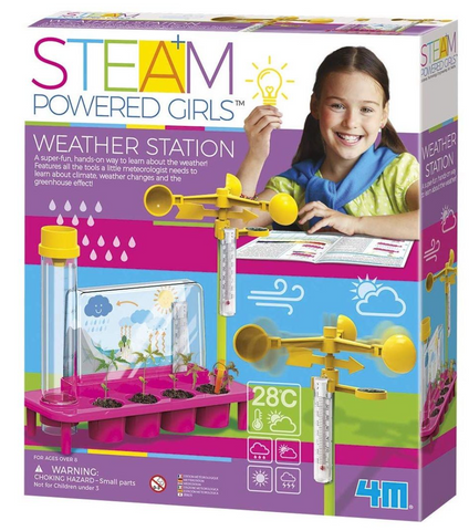 4M STEAM girls weather station