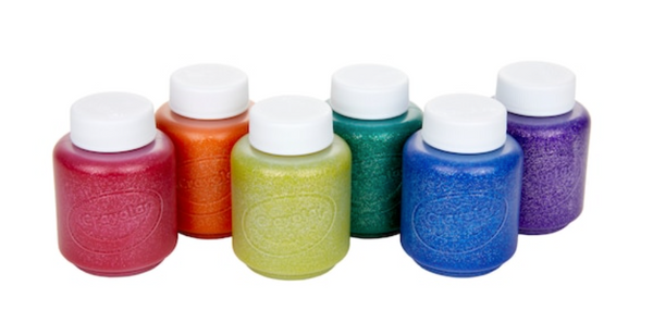 Crayola metallic washable paint set of 6