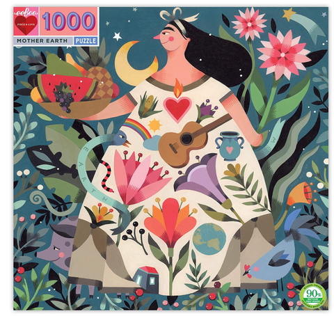 eeboo Mother Earth 1000 piece puzzle