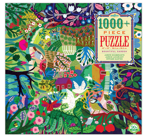 eeboo Bountiful garden 1000 piece puzzle