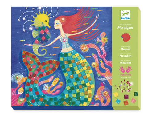Djeco mermaid mosaic