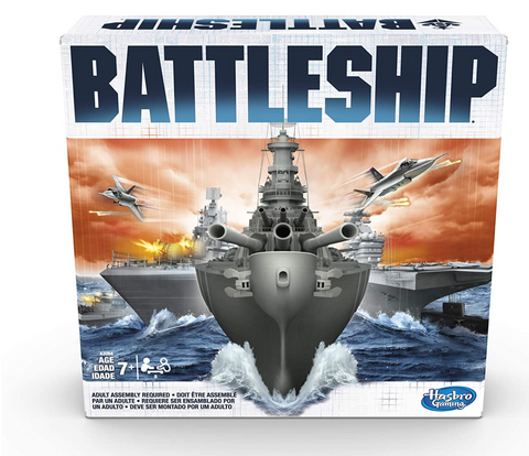 Classic battleship board game
