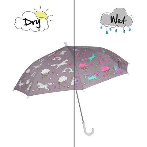Holly & Beau Unicorn Color Changing Umbrella