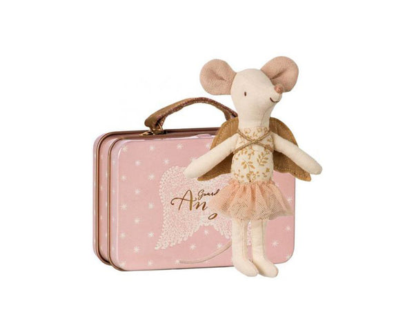 Guardian Angel In Suitcase Big Sister Mouse