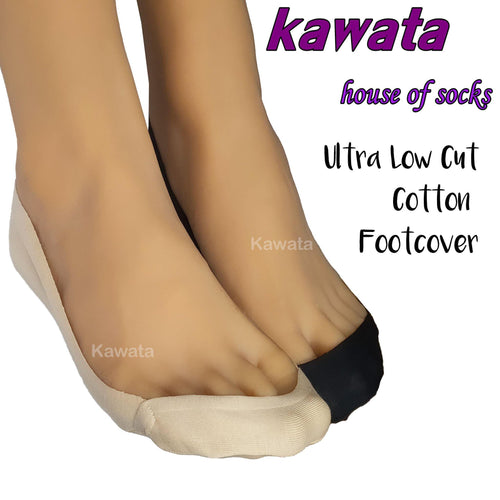 Ultra Low Cut Cotton Foot Cover - Kawata House of Socks
