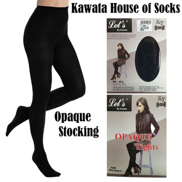 Opaque Stocking - Kawata House of Socks
