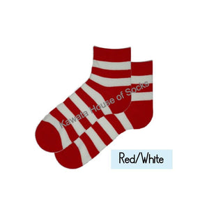 Quater Stripe Socks - Kawata House of Socks