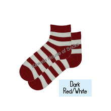 Load image into Gallery viewer, Quater Stripe Socks - Kawata House of Socks