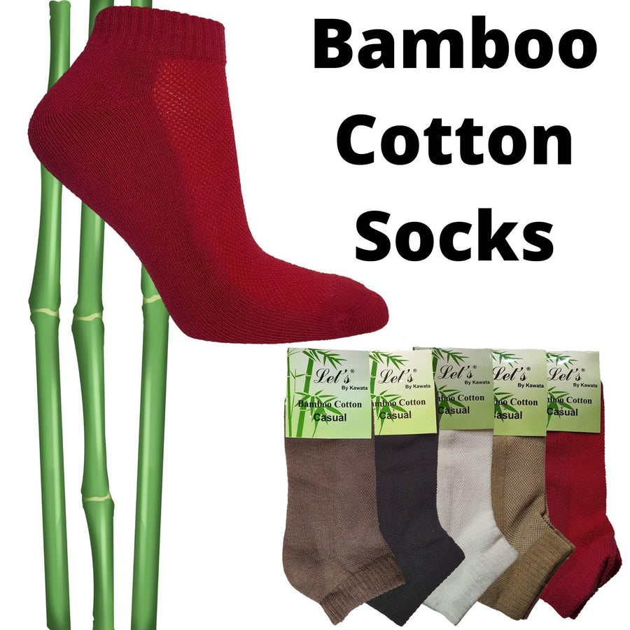 Bamboo Padded Socks - Kawata House of Socks