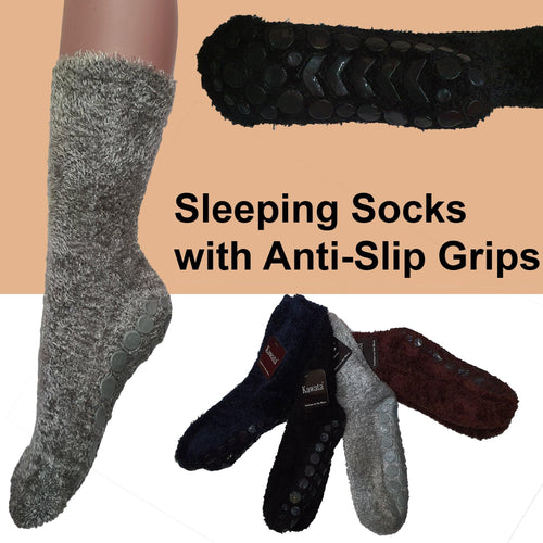 Sleeping Socks with Anti-Slip - Kawata House of Socks