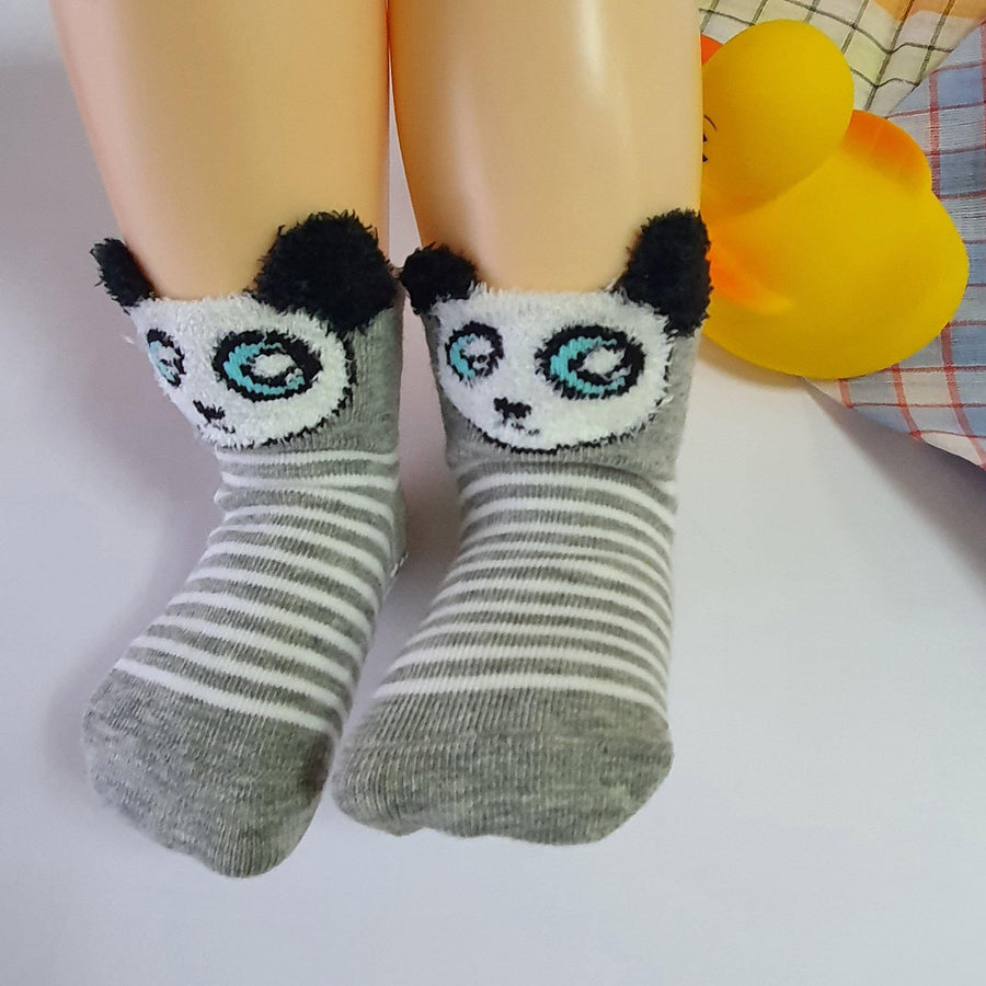 Panda Baby Socks ( 6 -12 months old ) - Kawata House of Socks